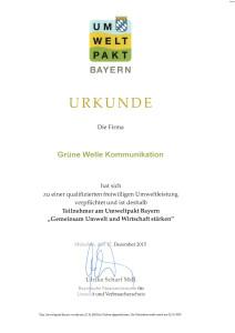 Umweltpakt Bayern 2015